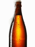 Beer Frothing Out of Bottle Photographic Print by  Kröger & Gross