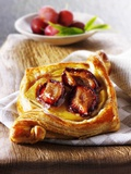 Puff Pastry Pastries with Plums Photographic Print by Paul Williams