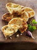 Spicy Pita Bread Photographic Print by Paul Williams