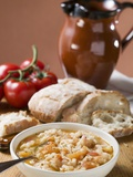 Bread Soup with Tomatoes Photographic Print