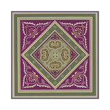 Sojourn Tile IV Stampa giclée di Paula Scaletta
