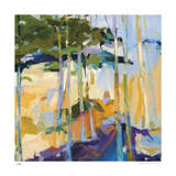 Abstract Landscape II Giclee Print by Barbara Rainforth