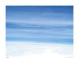Passing Jet at 37000 Feet Limitierte Auflage von Shams Rasheed