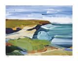 Ocean Bluffs Giclee-trykk av Barbara Rainforth