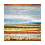 Earth Layers II Giclee Print by Selina Rodriguez