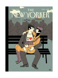 The New Yorker Cover - April 1, 2013 Giclee Print by Luci Gutiérrez