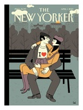 The New Yorker Cover - April 1, 2013 Regular Giclee Print by Luci Gutiérrez
