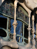 Casa Batllo, Gaudi, Barcelona, Spain Photographic Print by Manuel Cohen