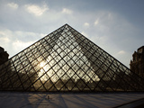 Louvre Museum, Paris, France Photographic Print by Manuel Cohen