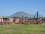 Forum, Pompeii, Italy Photographic Print by Manuel Cohen
