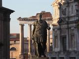 Gaius Julius Caesar, Forum, Rome, Italy Photographic Print by Manuel Cohen