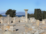 Domus, Roman city of  Empuries, Sant Marti d'Empuries, Girona, Spain Photographic Print by Manuel Cohen