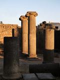Roman baths, Bosra, Syria Photographic Print by Manuel Cohen