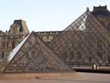 Louvre Museum, Paris, France Photographic Print by Manuel Cohen