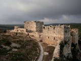Castle of Saladin, Latakia, Syria Photographic Print by Manuel Cohen