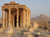 Baalshamin sanctuary, Palmyra, Syria Photographic Print by Manuel Cohen
