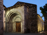 Ancient Hospital San Julia, Besalu, Girona, Spain Photographic Print by Manuel Cohen