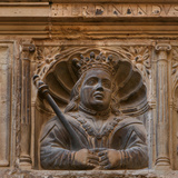 King Ferdinand II of Aragon, Royal Schools, Tortosa, Tarragona, Spain Photographic Print by Manuel Cohen