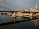 Puente del Estado and Parroquia del Rosario, Tortosa, Tarragona, Spain Photographic Print by Manuel Cohen