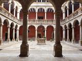 Patio, Royal Schools, Tortosa, Tarragona, Spain Photographic Print by Manuel Cohen