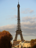 Eiffel Tower, Paris, France Photographic Print by Manuel Cohen
