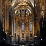 Cathedral of the Holy Cross and Saint Eulalia, Barcelona, Spain Photographic Print by Manuel Cohen