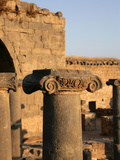 Archaeological site of Bosra, Syria Photographic Print by Manuel Cohen