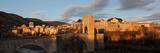 Romanesque bridge over the Fluvia river, Besalu, Girona, Spain Photographic Print by Manuel Cohen