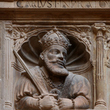 Charles V, Royal Schools, Tortosa, Tarragona, Spain Photographic Print by Manuel Cohen