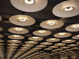 New Terminal Building T4, Barajas Airport, Madrid, Spain Photographic Print by Manuel Cohen