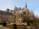 Notre Dame de Reims (Our Lady of Rheims), Champagne, France Photographic Print by Manuel Cohen