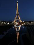 Eiffel Tower, Paris, France Lámina fotográfica por Manuel Cohen