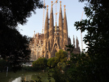 Sagrada Familia, Gaudi, Barcelona, Spain Photographic Print by Manuel Cohen