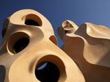 La Pedrera, Gaudi, Barcelona, Spain Photographic Print by Manuel Cohen
