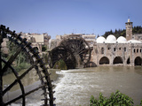 Waterwheel, Hama, Syria Photographic Print by Manuel Cohen