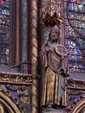 La Sainte-Chapelle (The Holy Chapel), Paris, France Photographic Print by Manuel Cohen