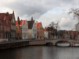 Bruges, Western Flanders, Belgium Photographic Print by Manuel Cohen