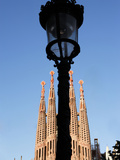 Sagrada Familia, Gaudi, Barcelona, Spain Photographic Print by Manuel Cohen