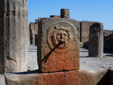 Fountain, Pompeii, Italy Photographic Print by Manuel Cohen
