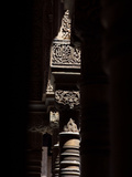 Pillars, Courtyard of the Lions, Comares Palace, Alhambra, Granada, Spain Photographic Print by Manuel Cohen