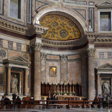 Main altar, Rotunda of the Pantheon, Rome, Italy Photographic Print by Manuel Cohen