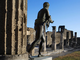 Temple of Apollo, Pompeii, Italy Photographic Print by Manuel Cohen