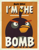 Angry Birds - The Bomb Tin Sign Tin Sign