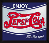 Enjoy Pepsi Mirror Sign Wall Sign