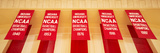 Indiana University Championship Banners Panorama Photo