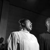 Mahalia Jackson Fotografie-Druck von David W. Jackson