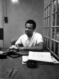 Huey Newton - 1968 Photographic Print by Bill Gillohm