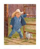 Baby Blues Kunst von June Dudley