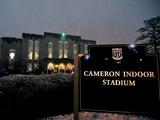 Georgia Tech Yellow Jackets vs Duke Blue Devils - Cameron Stadium: North Carolina, Jan. 17, 2013 Fotografisk tryk