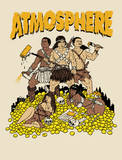 Atmosphere Paint the Nation Gold Tour Serigrafía por Todd Bratrud